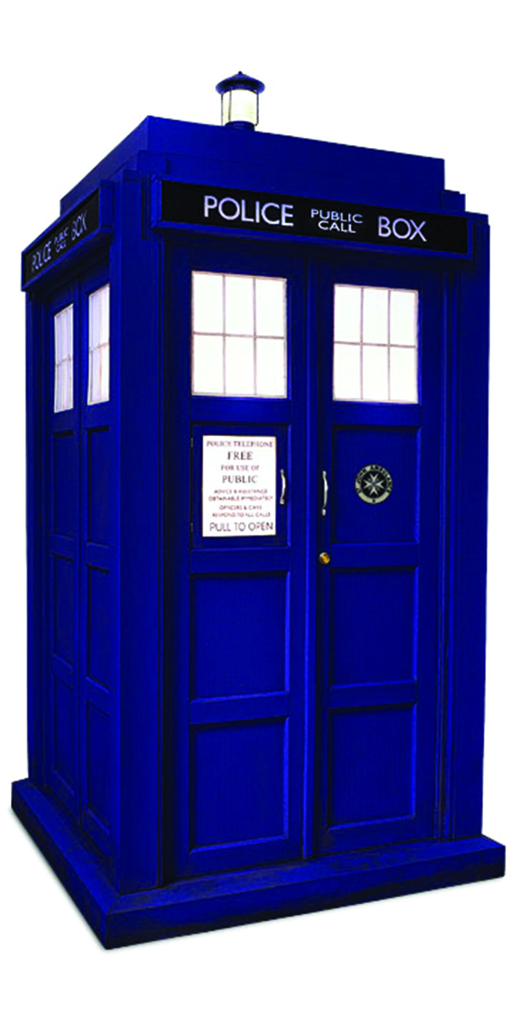 DOCTOR WHO 11TH DR TARDIS 1/6 SCALE DIORAMA