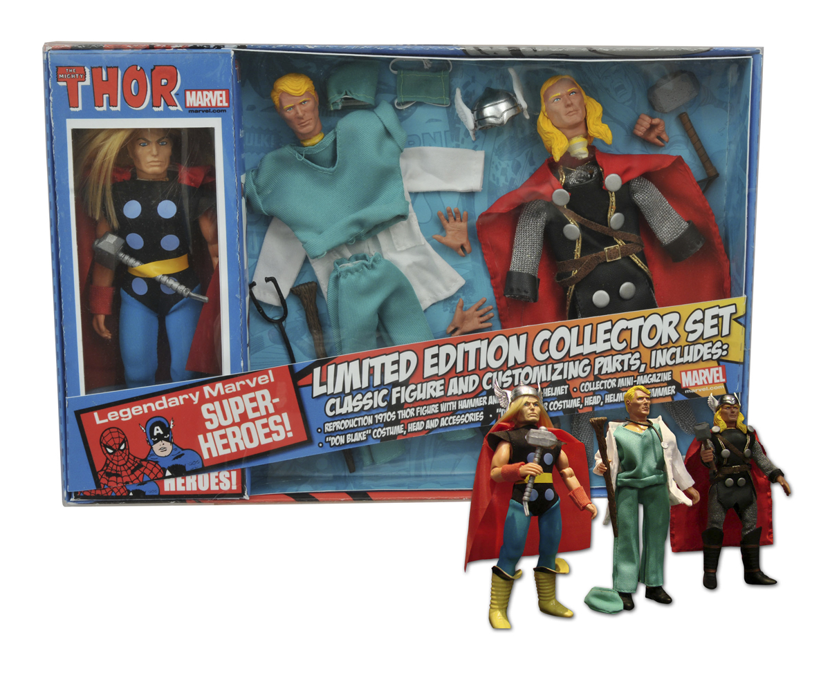 MARVEL THOR 8IN RETRO AF SET