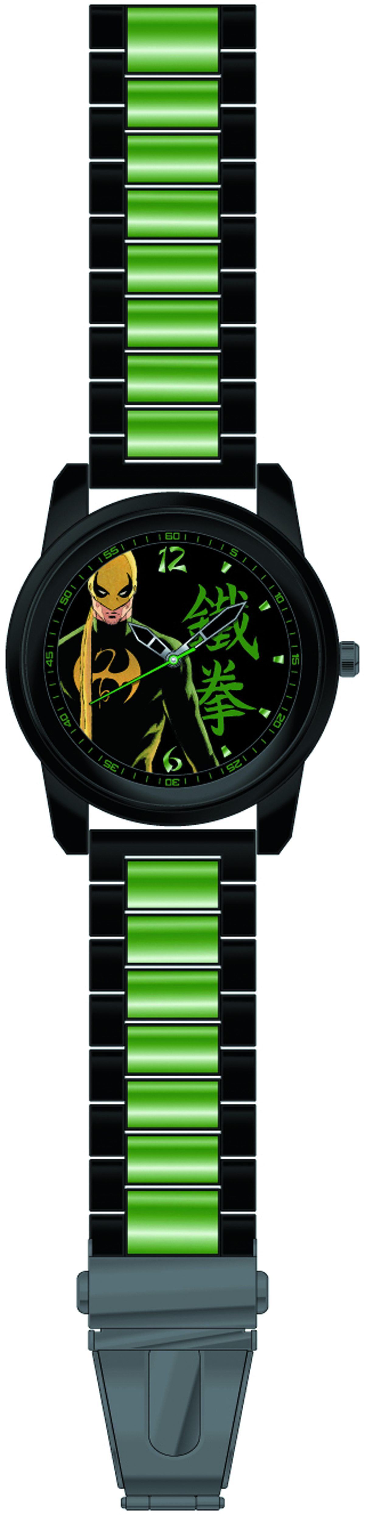 IRON FIST BLACK BRACELET WATCH