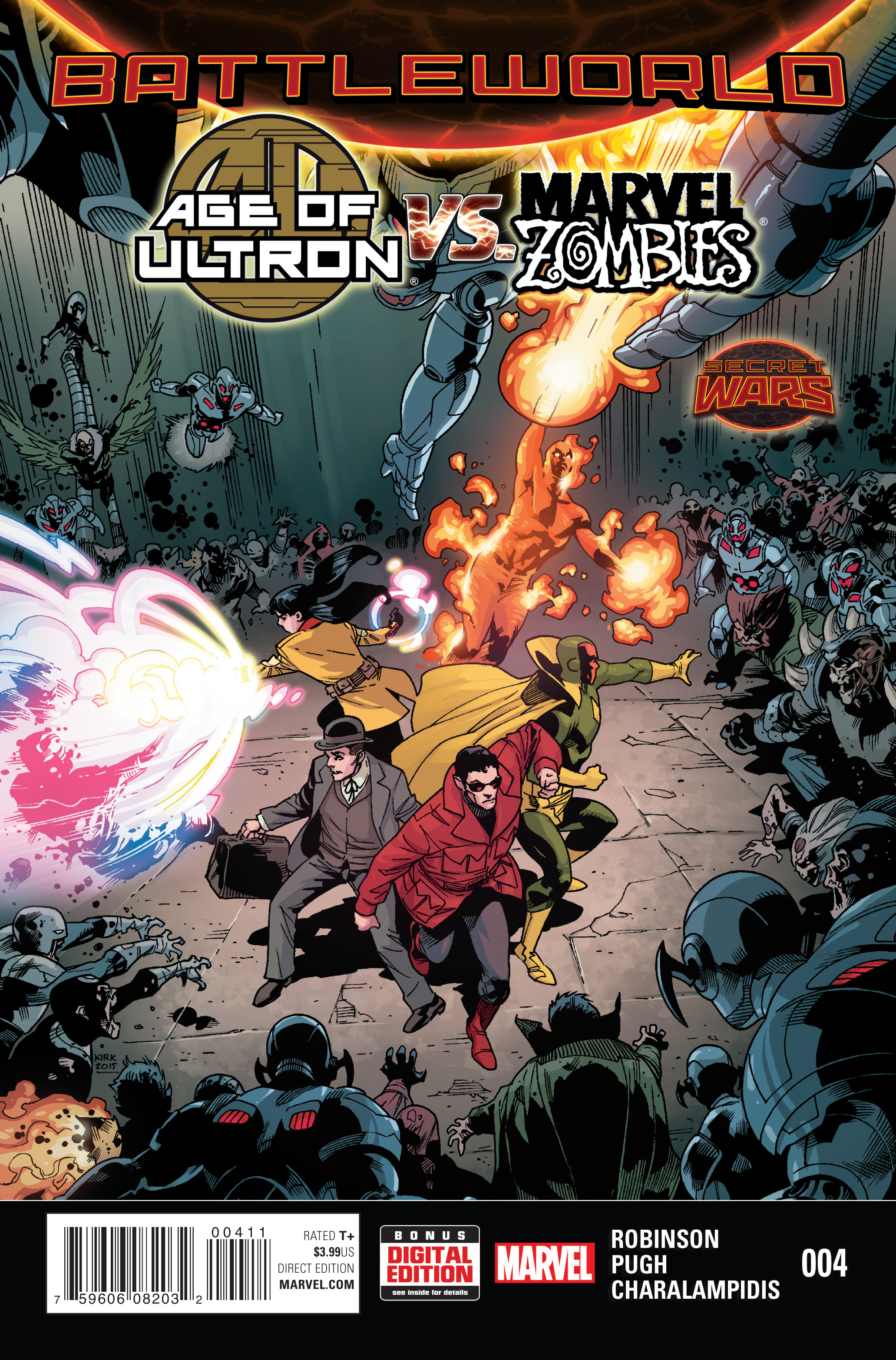 AGE OF ULTRON VS MARVEL ZOMBIES #4 SWA