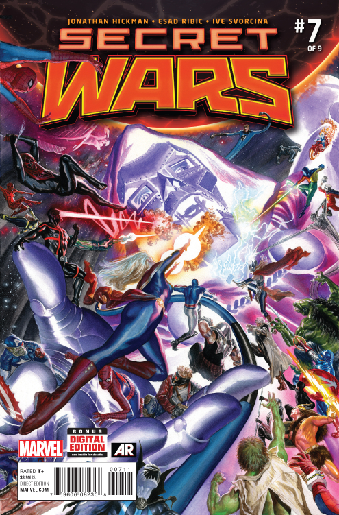 SECRET WARS #7 (OF 9) SWA