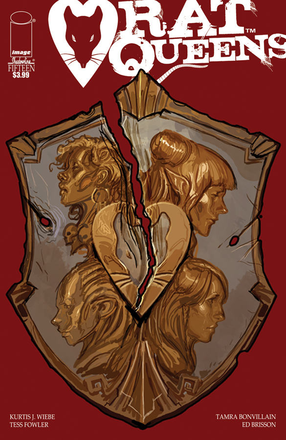 RAT QUEENS #15 (MR)