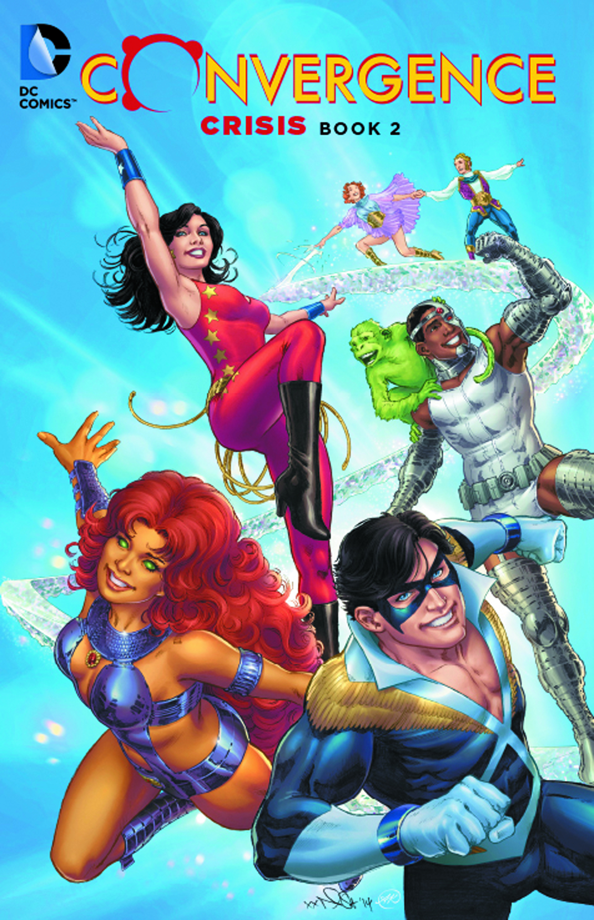 CONVERGENCE CRISIS TP BOOK 02