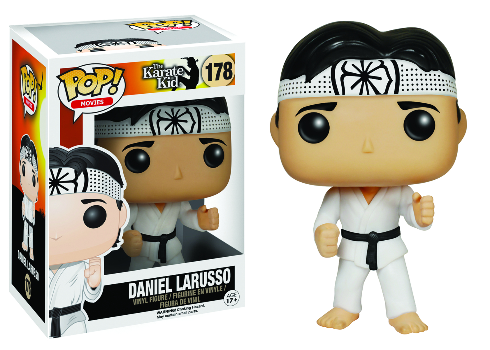POP KARATE KID DANIEL LARUSSO VINYL FIG