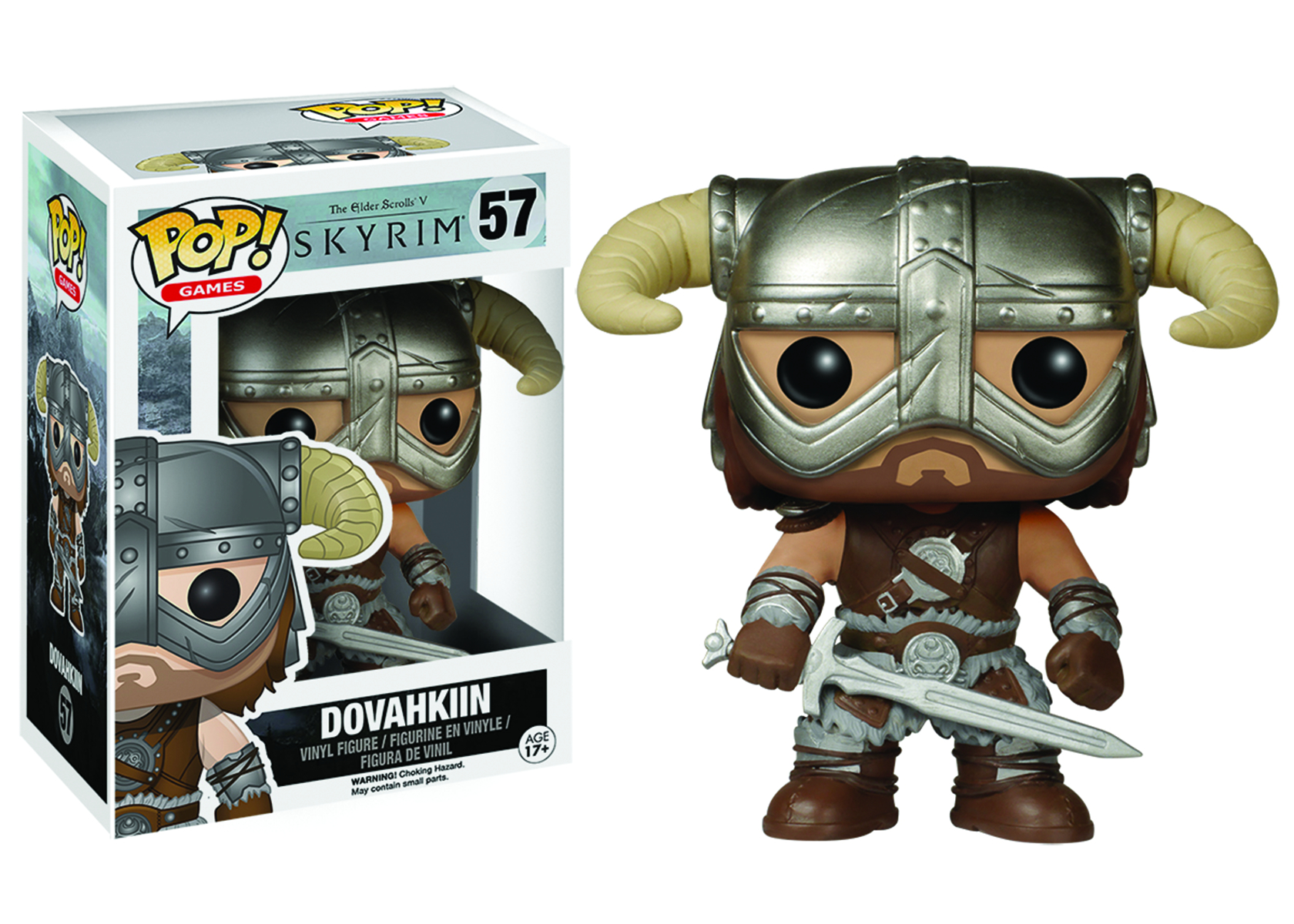 POP SKYRIM DOVAHKIIN VINYL FIG