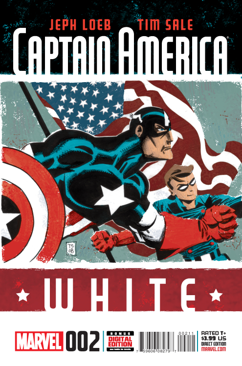 CAPTAIN AMERICA WHITE #2 (OF 5)
