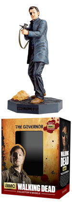 WALKING DEAD FIG MAG #4 THE GOVERNOR