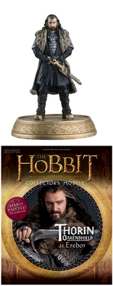 HOBBIT MOTION PICTURE FIG MAG #2 THORIN OAKENSHIELD