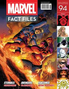 MARVEL FACT FILES #94 IKARIS COVER