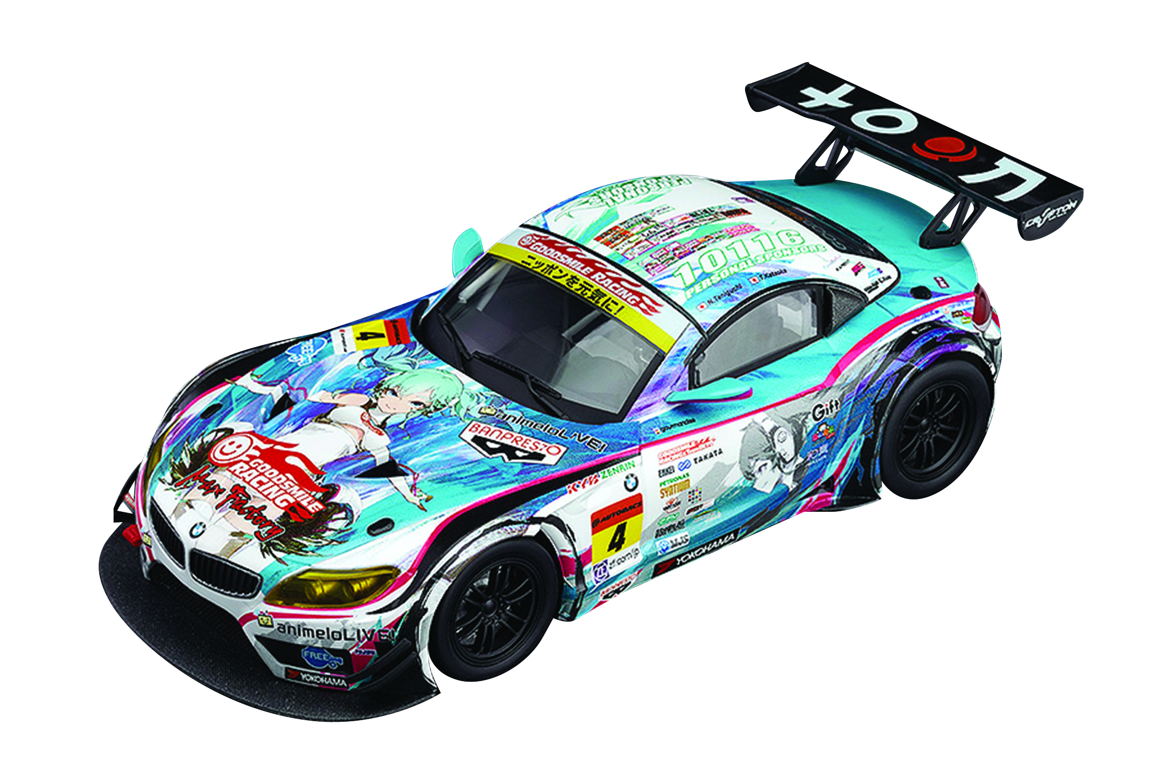 RACING MIKU BMW 2014 VEHICLE SERIES CHAMPION VER