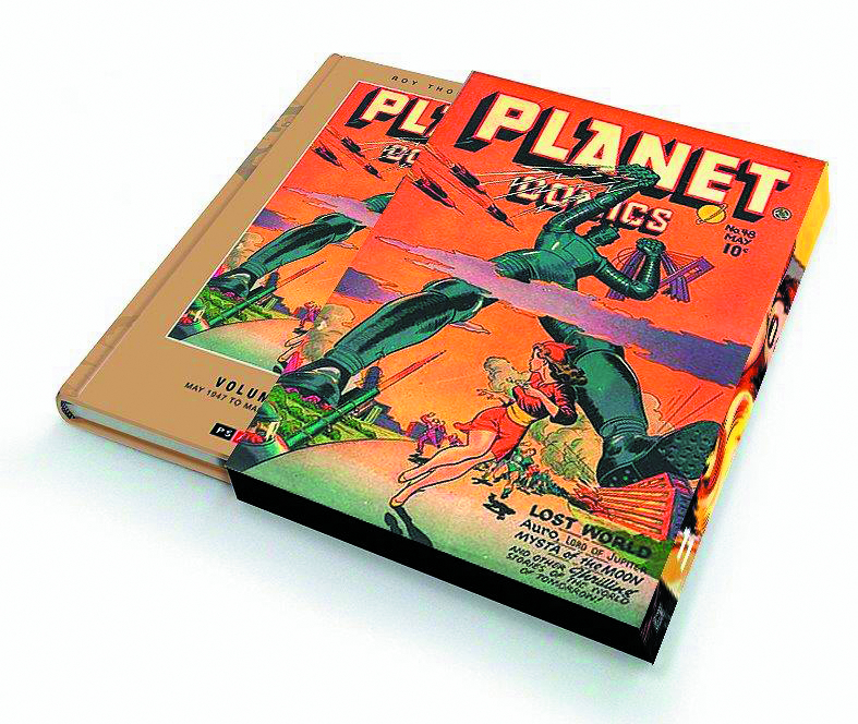 ROY THOMAS PRESENTS PLANET COMICS SLIPCASE ED VOL 11