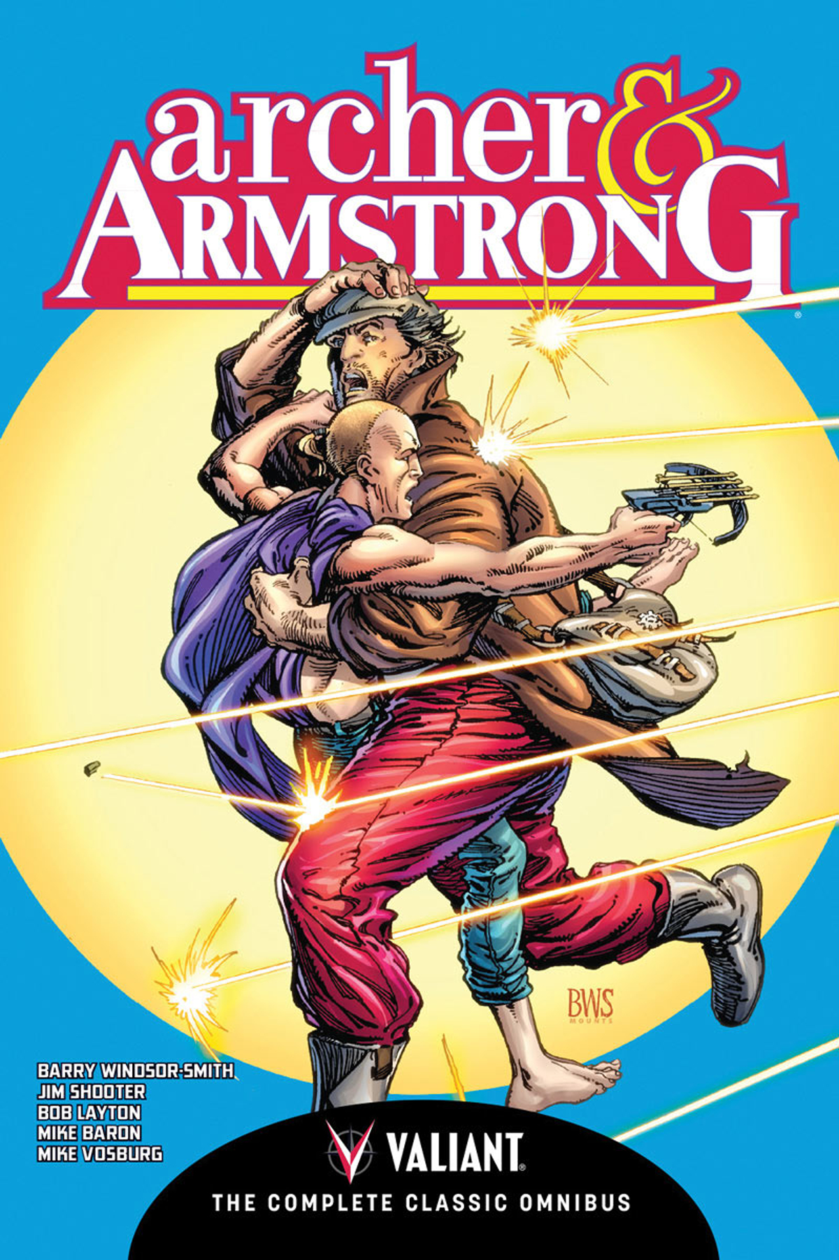 ARCHER & ARMSTRONG COMP CLASSIC OMNIBUS HC