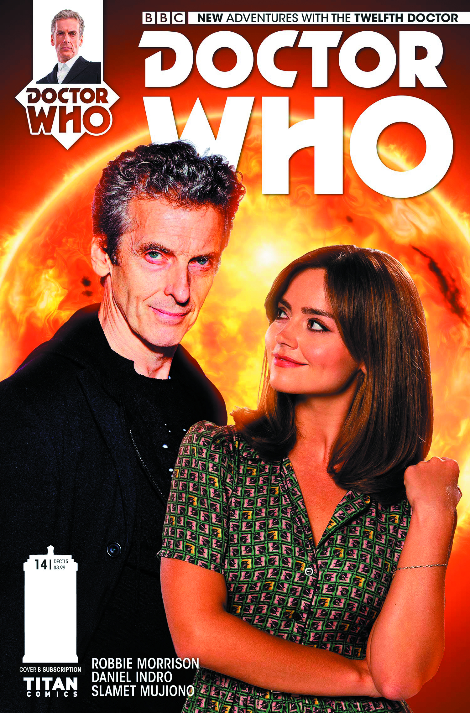 DOCTOR WHO 12TH #14 SUBSCRIPTION PHOTO
