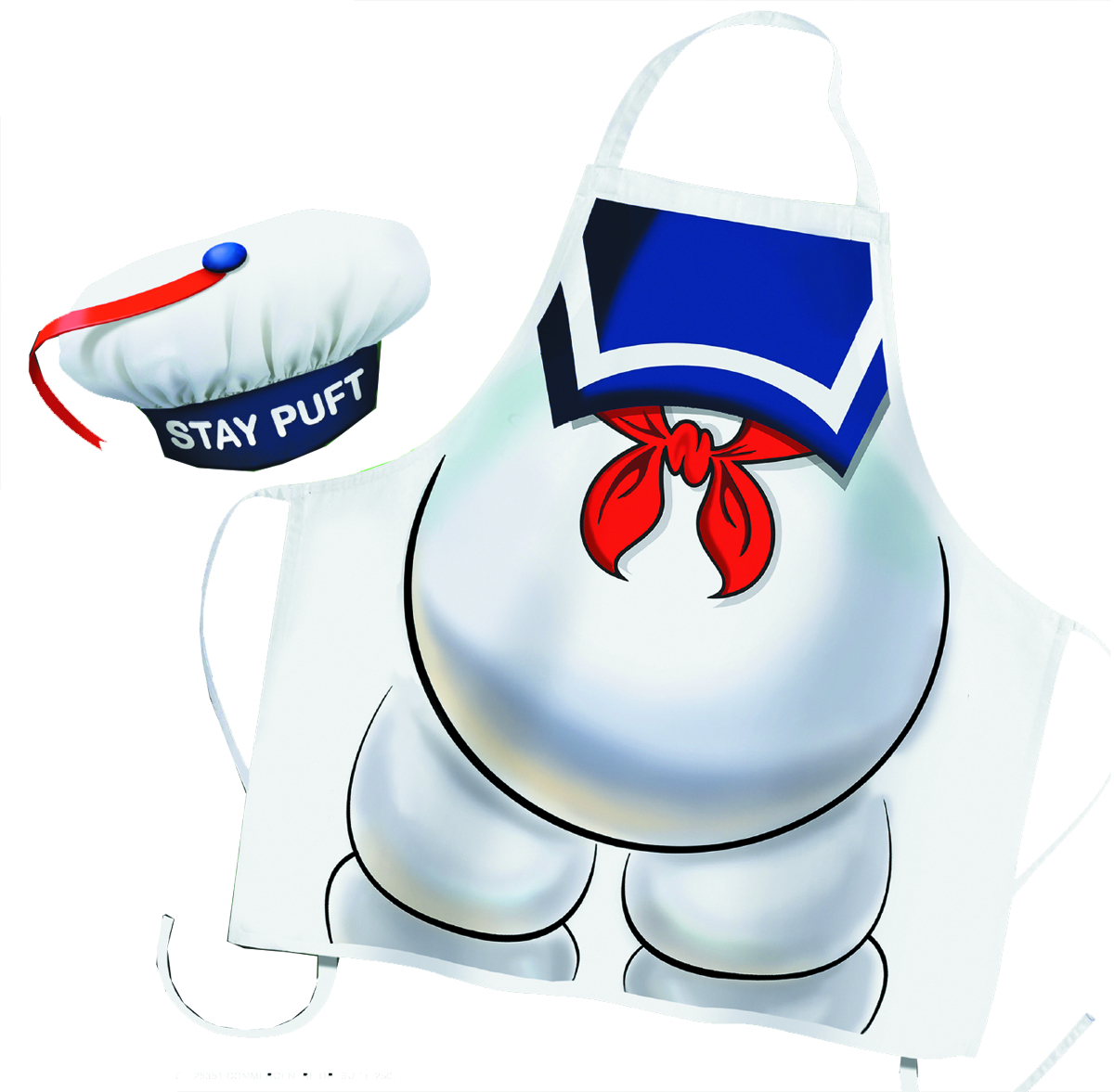 GHOSTBUSTERS STAY PUFT APRON & CHEF HAT