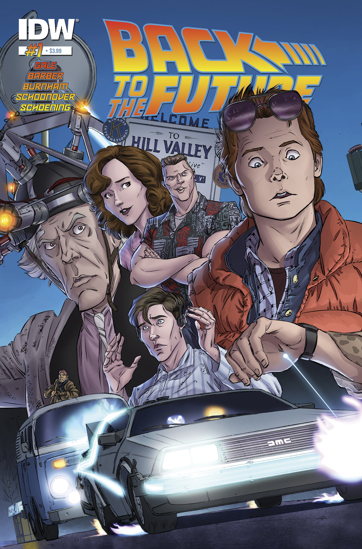 (USE SEP158209) BACK TO THE FUTURE #1