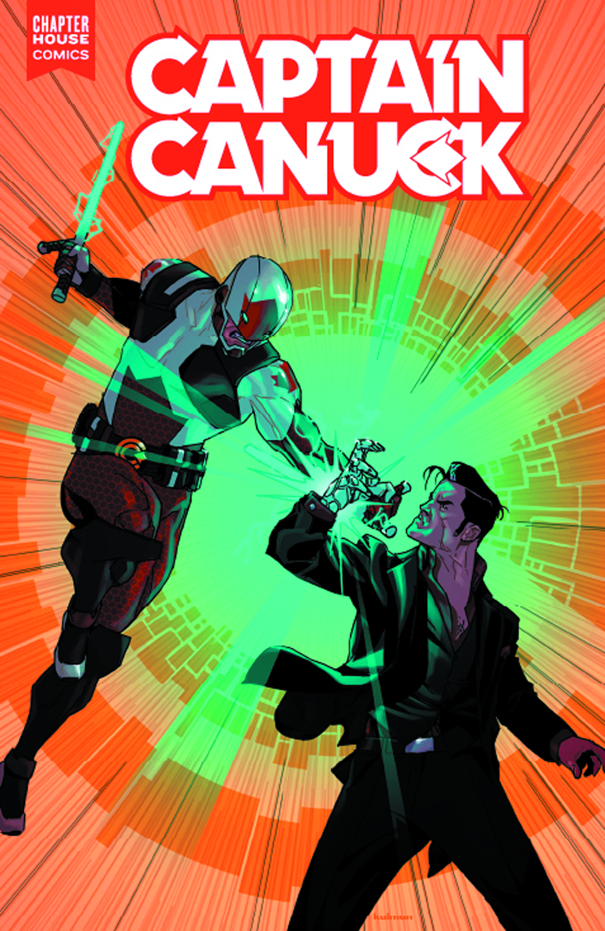 CAPTAIN CANUCK 2015 ONGOING #6