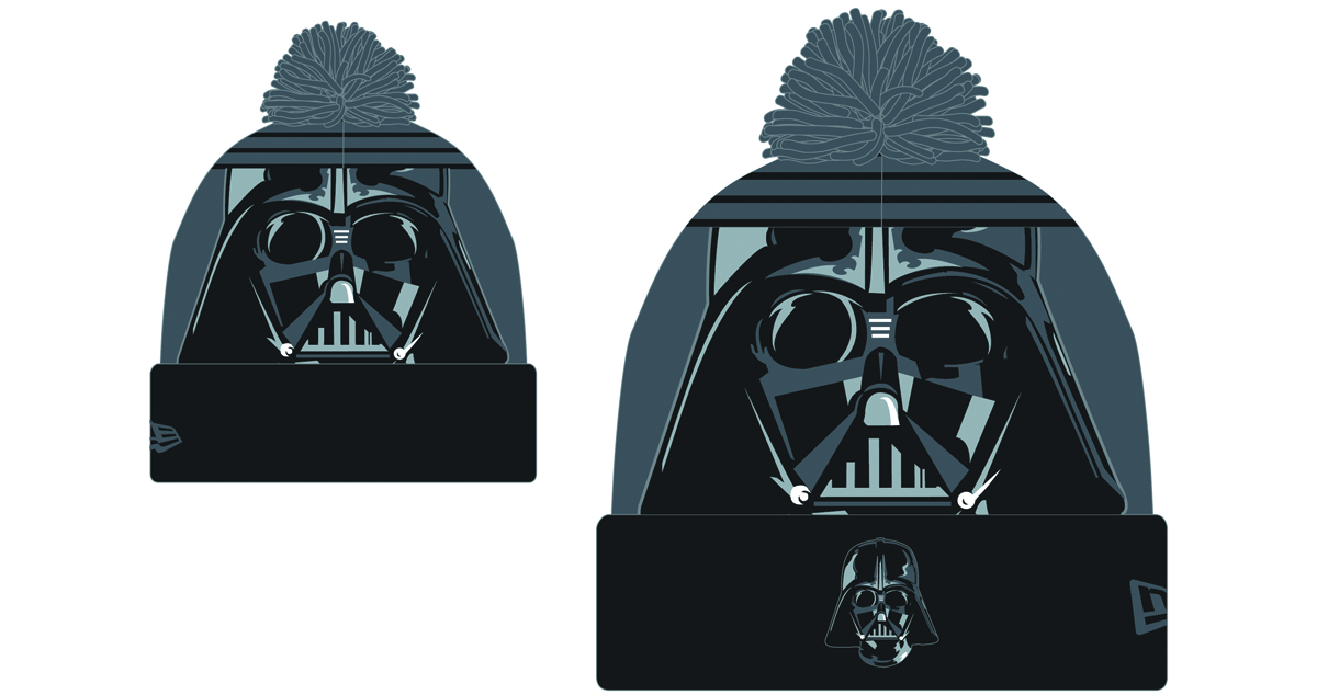 STAR WARS DARTH VADER LOGO WHIZ KNIT CAP