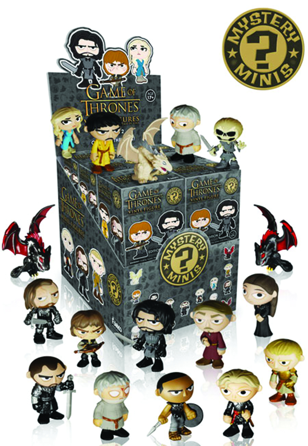 MYSTERY MINIS GAME OF THRONES SER 2 12PC BMB DISP