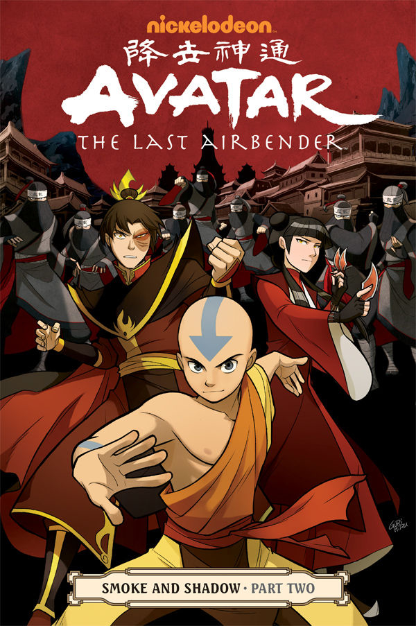 AVATAR LAST AIRBENDER TP VOL 11 SMOKE & SHADOW PART 2