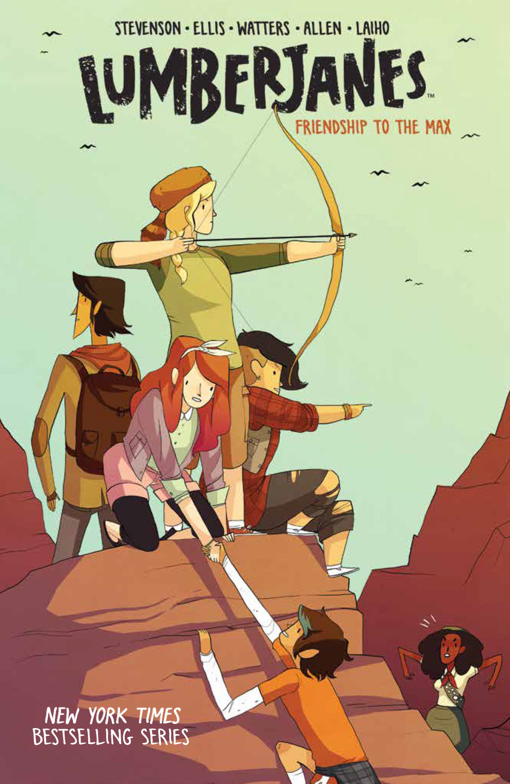 LUMBERJANES TP VOL 02 Friendship To The Max