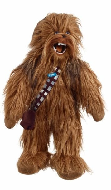 SW MEGA POSEABLE 24IN CHEWBACCA TALKING PLUSH