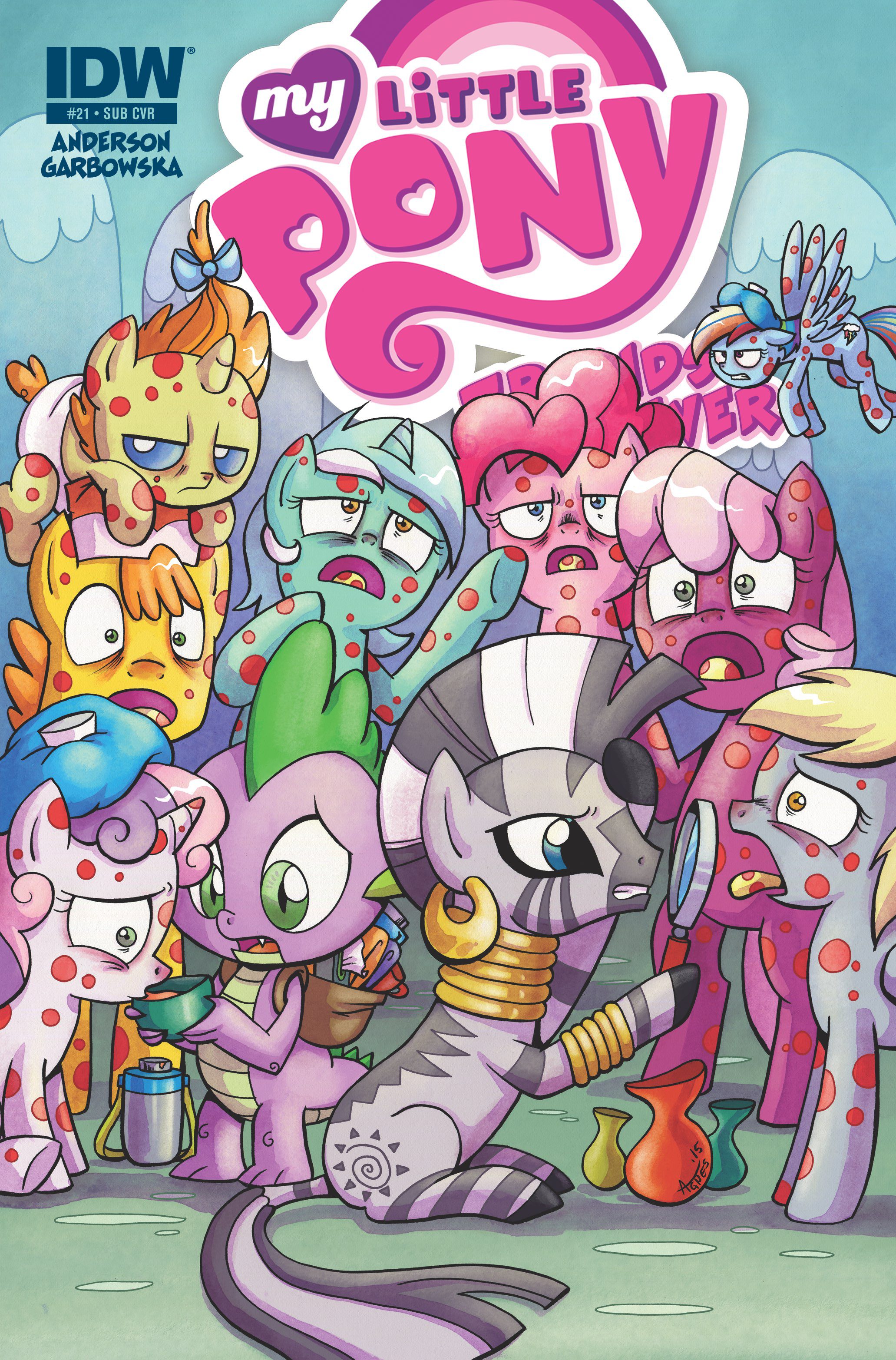 MY LITTLE PONY FRIENDS FOREVER #21 SUBSCRIPTION VAR