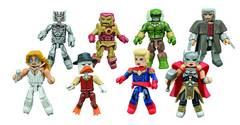 MARVEL MINIMATES SER 64 SECRET WARS ASST