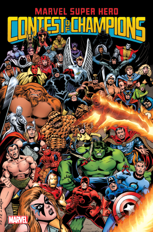 MARVEL SUPER HERO CONTEST OF CHAMPIONS TP VOL 01