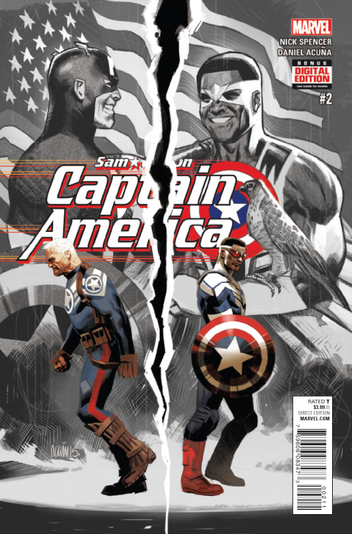 CAPTAIN AMERICA SAM WILSON #2