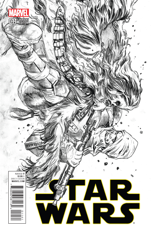 STAR WARS #11 IMMONEN SKETCH VAR