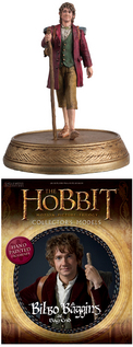 HOBBIT MOTION PICTURE FIG MAG #3 BILBO BAGGINS
