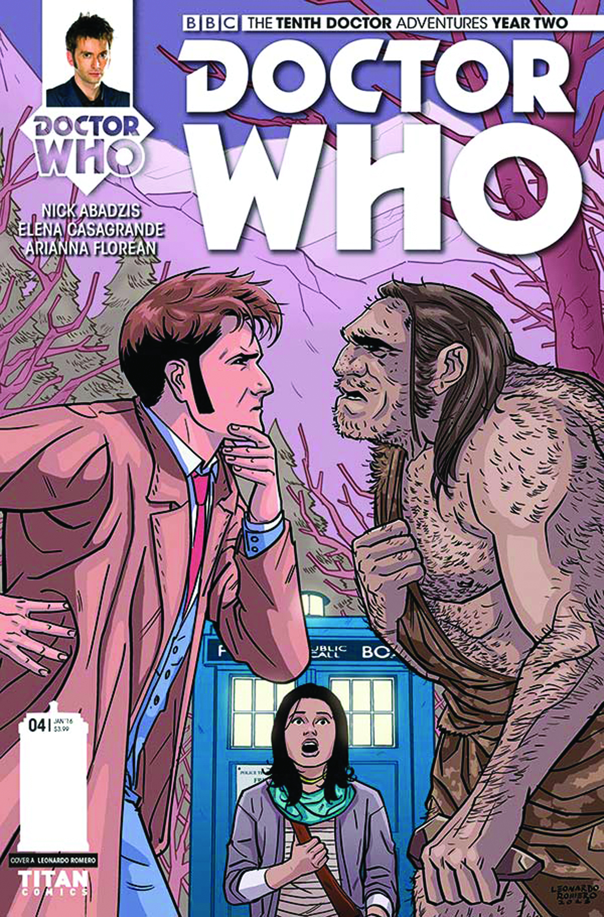 DOCTOR WHO 10TH YEAR TWO #4 REG ROMERO
