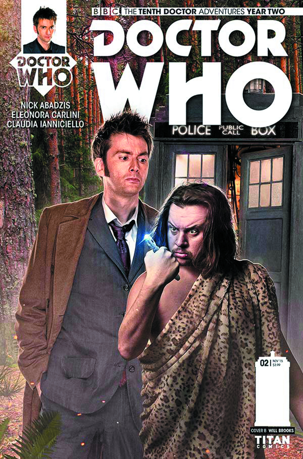 DOCTOR WHO 10TH YEAR TWO #4 SUBSCRIPTION PHOTO