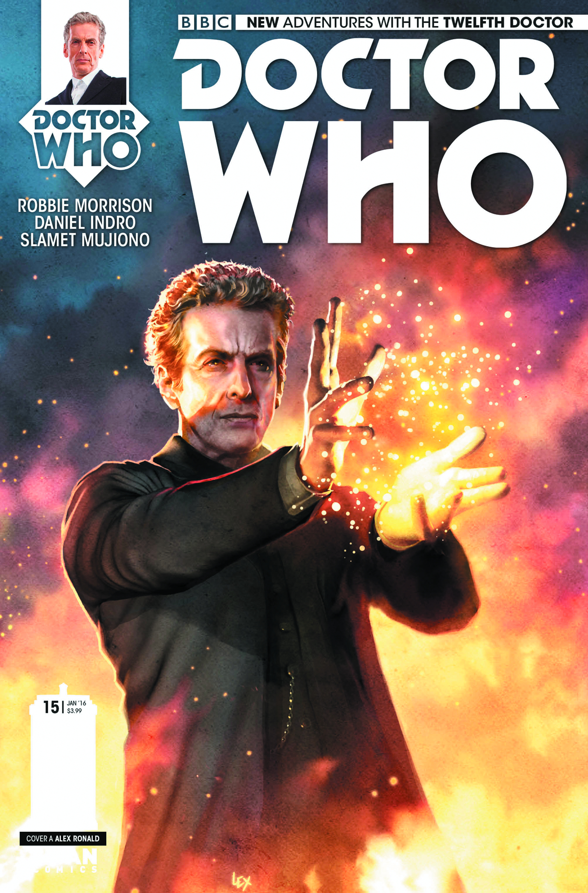 DOCTOR WHO 12TH #15 REG RONALD