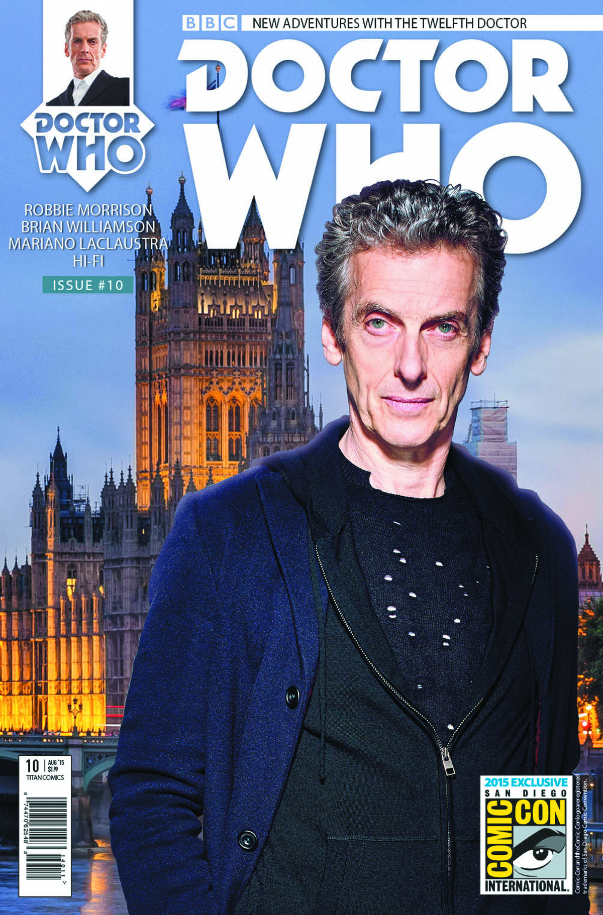 DOCTOR WHO 12TH #10 SDCC VAR