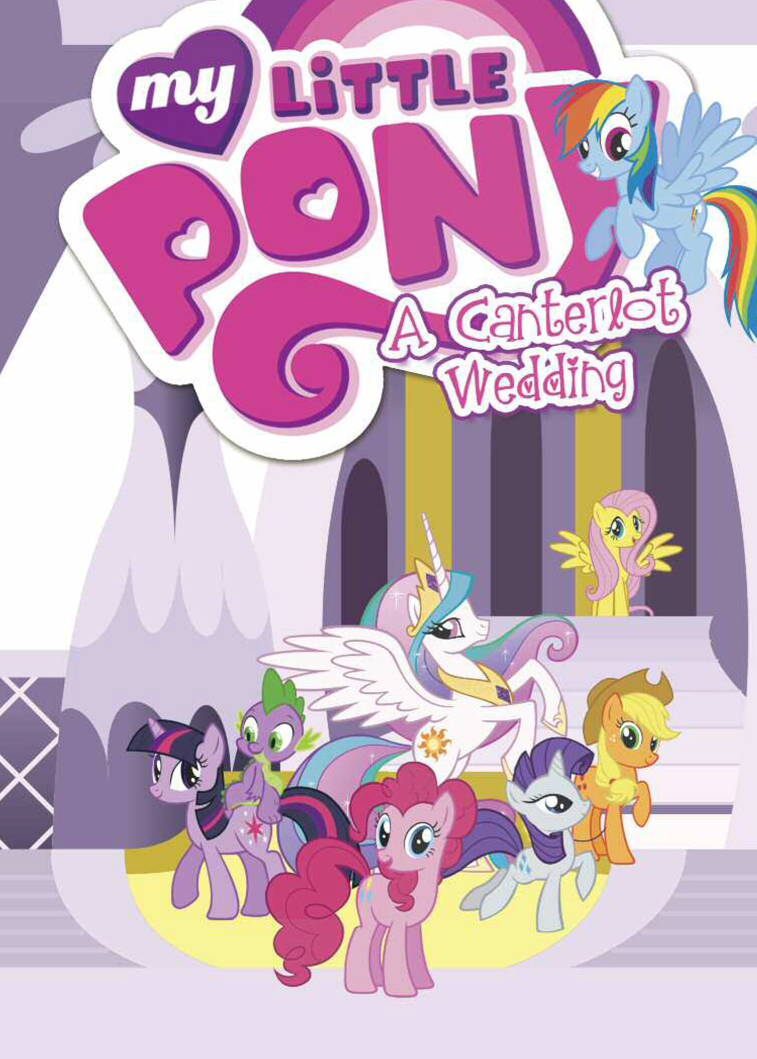 MY LITTLE PONY A CANTERLOT WEDDING TP