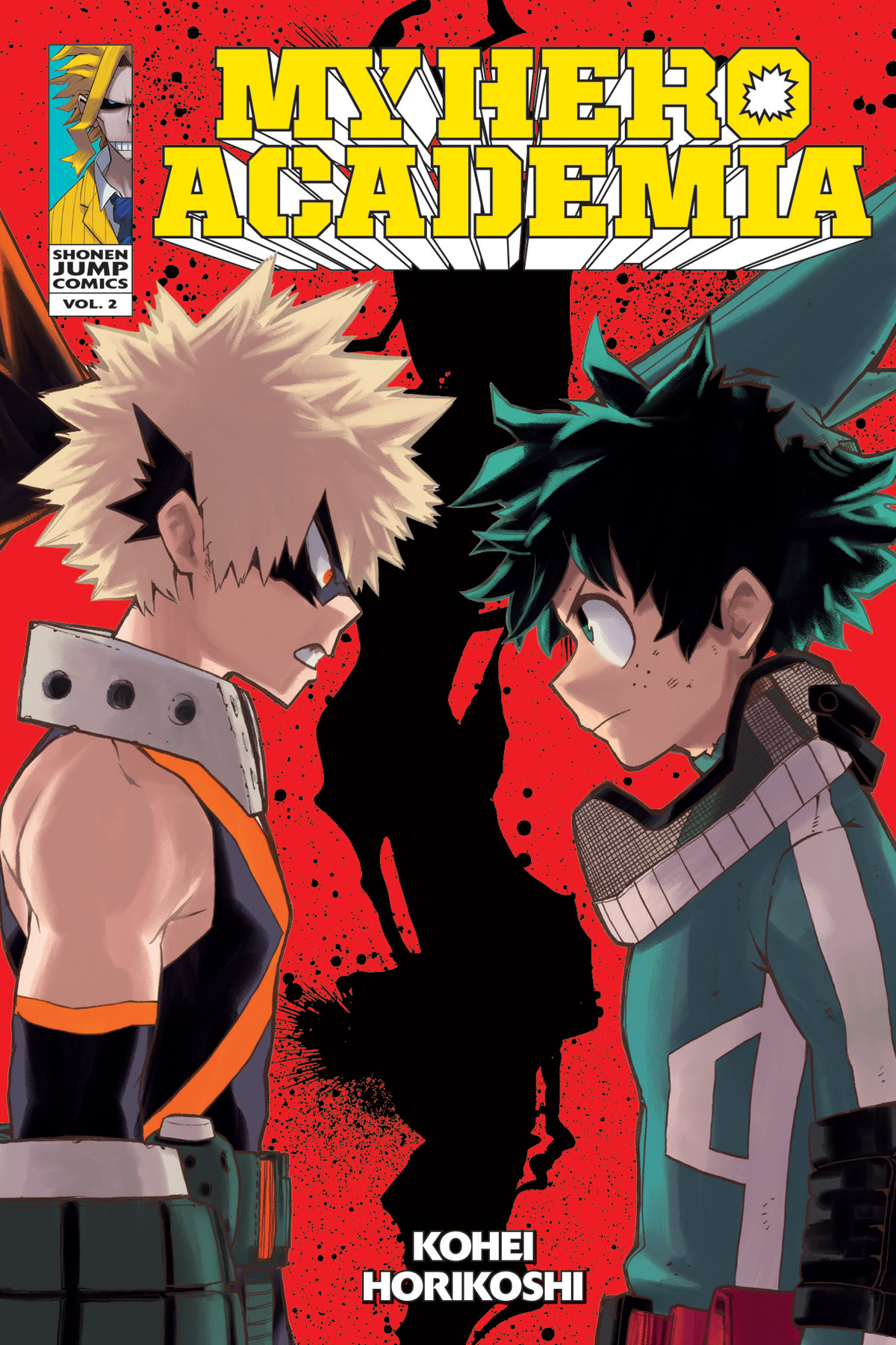 MY HERO ACADEMIA GN VOL 02