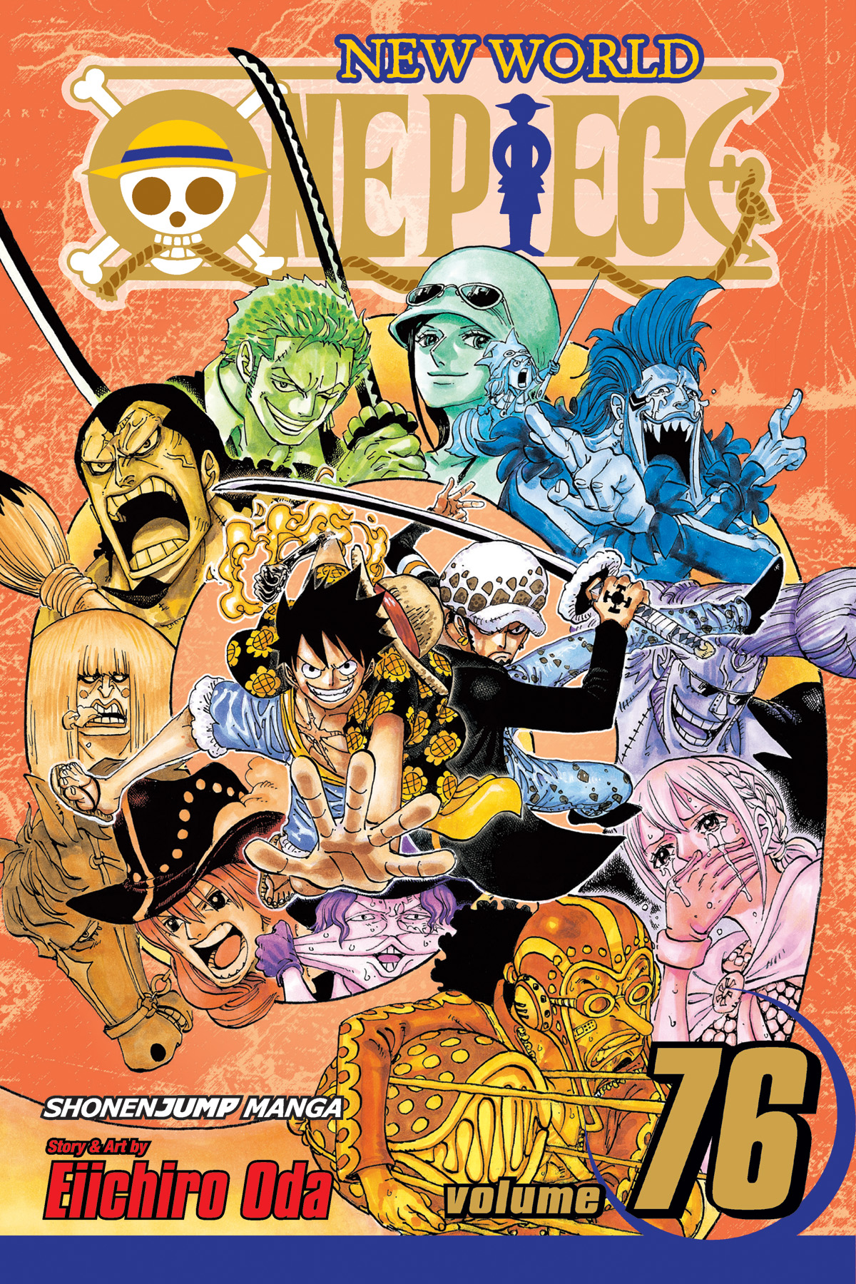 ONE PIECE GN VOL 76