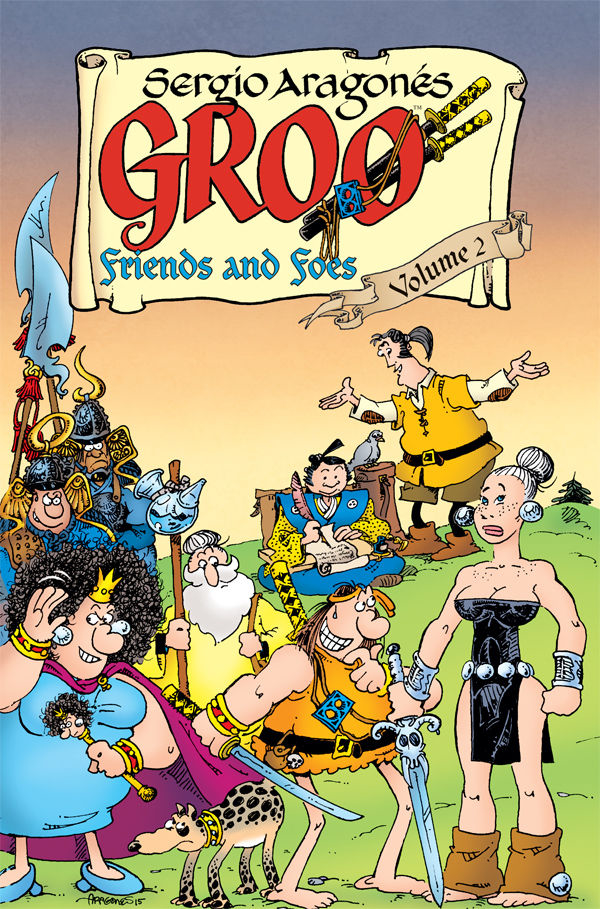 GROO FRIENDS AND FOES TP VOL 02