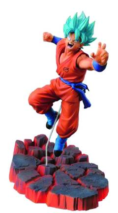 DBZ SCULTURE BIG BUDOKAI GOD SON GOKU FIG