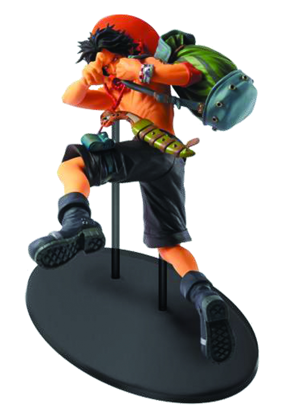 ONE PIECE SCULTURE BIG ZOKEIO4 ACE FIG