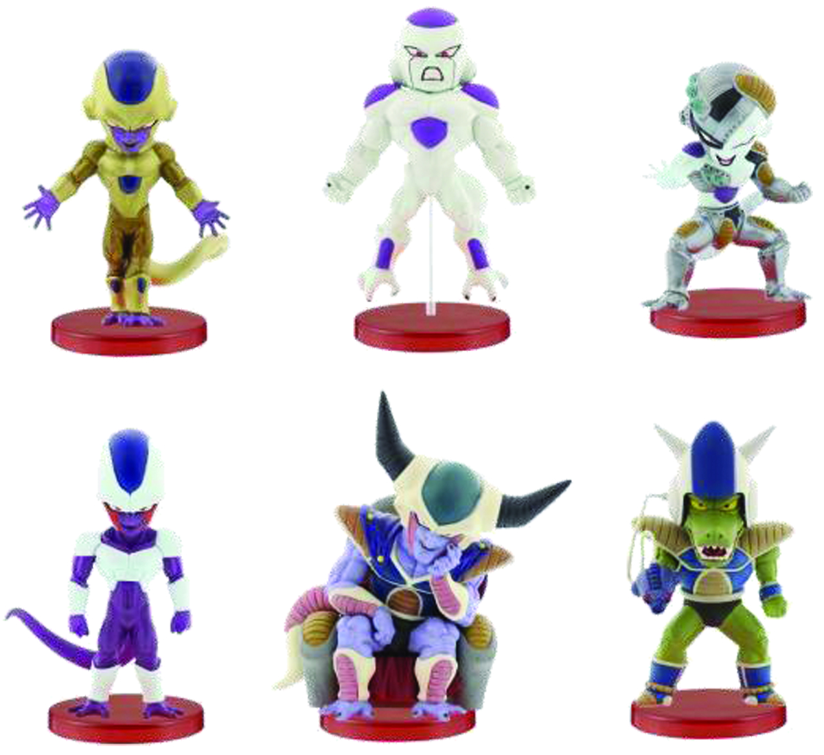 DBZ MOVIE WCF FRIEZA SPEC V2 KING COLD FIG