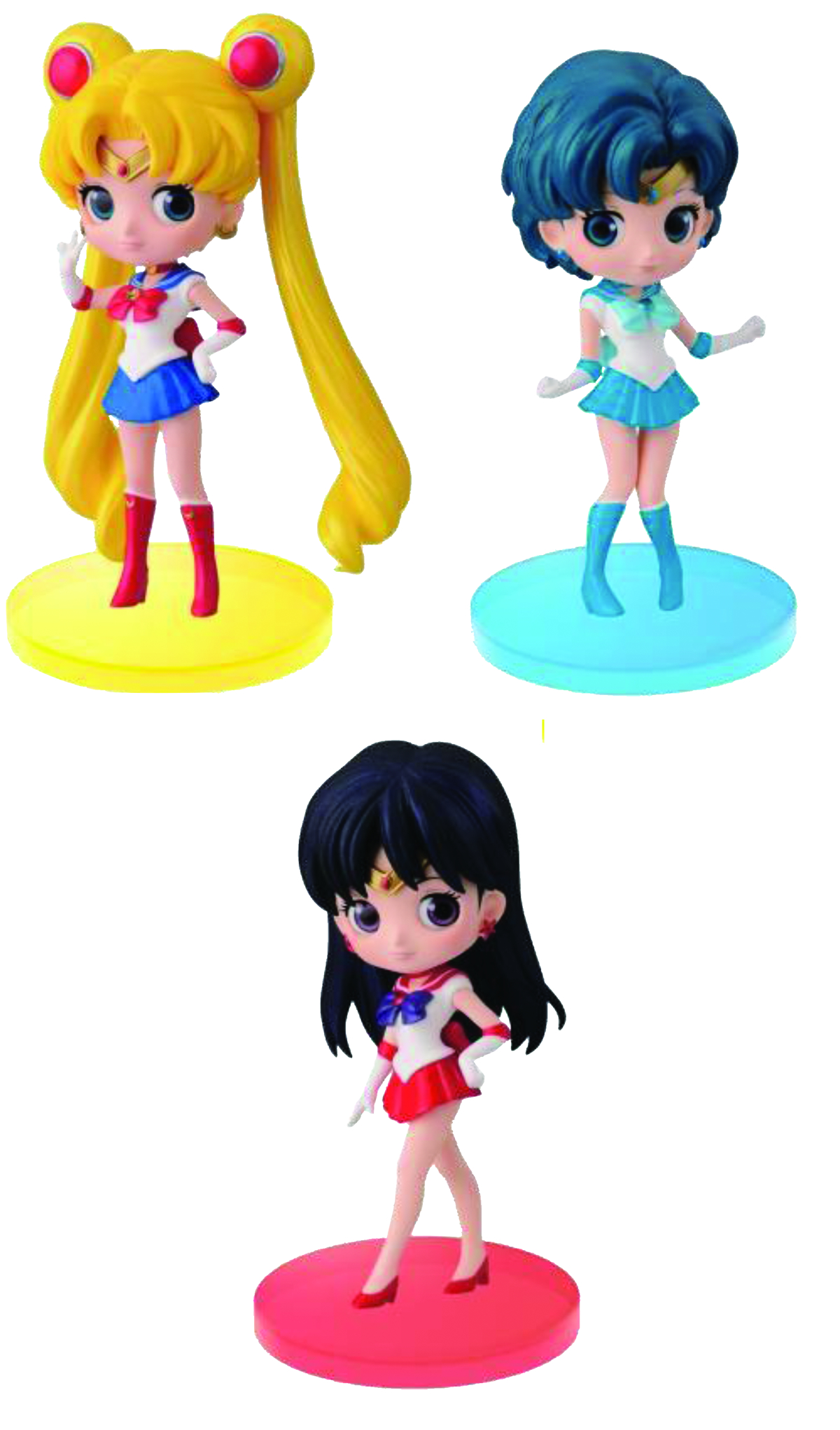 SAILOR MOON Q-POSKET PETIT V1 SAILOR MARS FIG