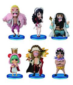 ONE PIECE WCF DONQUIXOTE PIRATES BABY 5 FIG