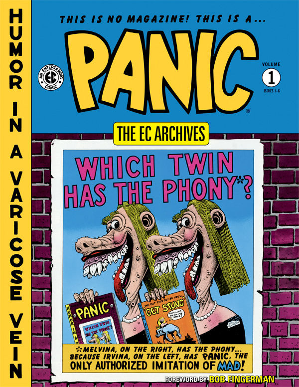 EC ARCHIVES PANIC HC VOL 01