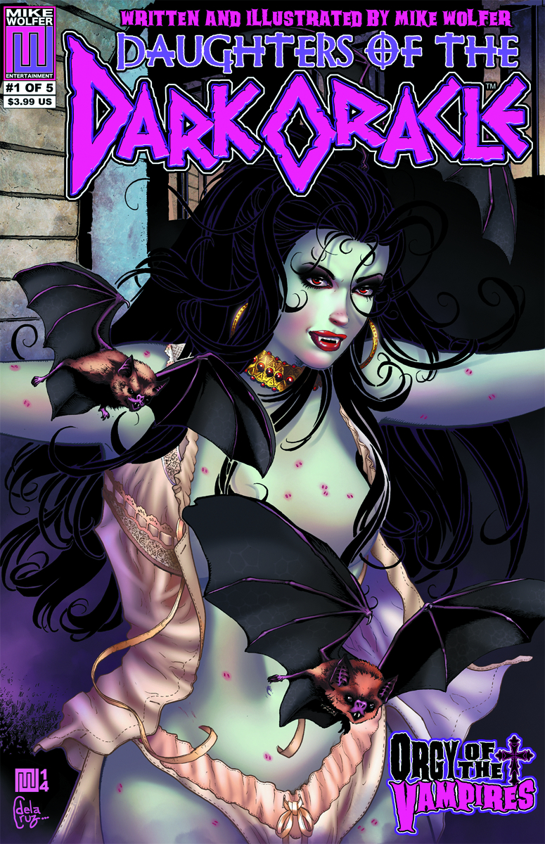 DAUGHTERS OF THE DARK ORACLE #1 (OF 5) ORGY OF VAMPIRES