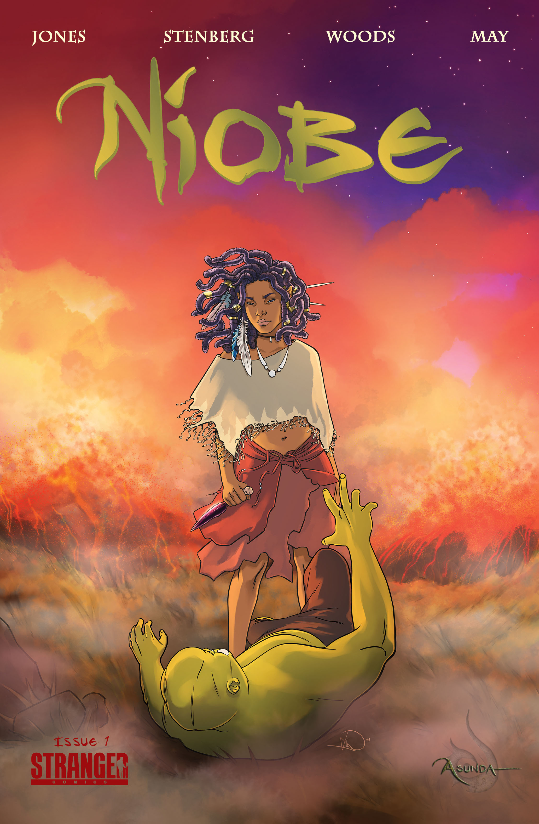 (USE JAN168215) NIOBE SHE IS LIFE #1 WOODS CVR