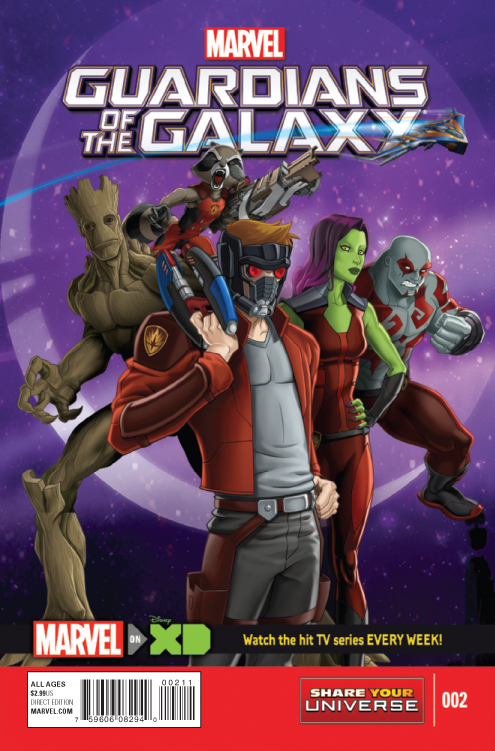 SEP150842 - MARVEL UNIVERSE GUARDIANS OF GALAXY #2