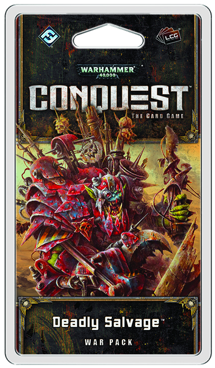 WH40K CONQUEST LCG DEADLY SALVAGE WAR PACK EXP