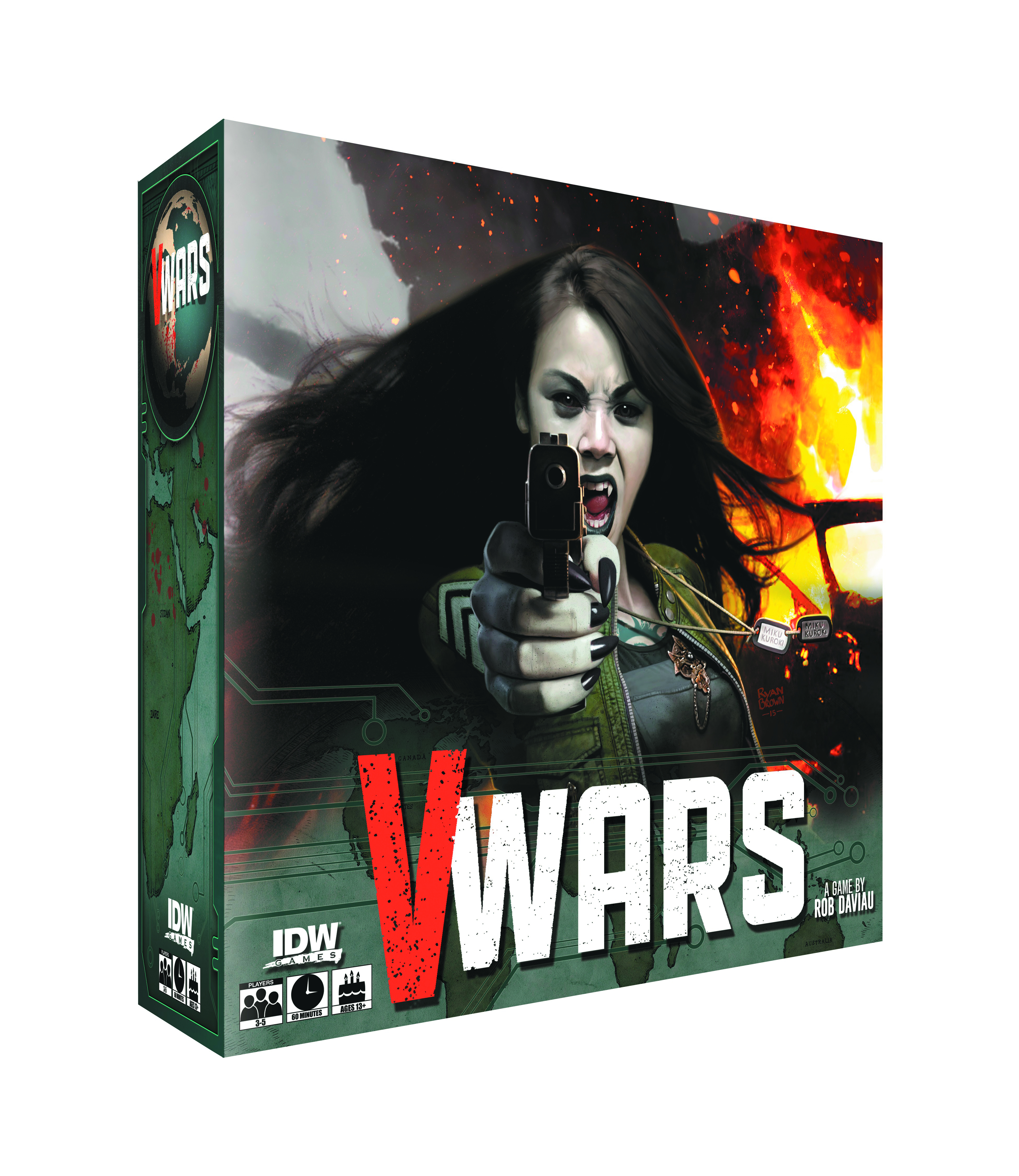 V-WARS BLOOD & FIRE BOARD GAME